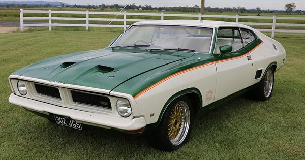 1975 Ford Falcon John Goss Special – MTA Queensland   Motor Trades